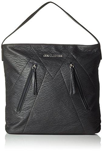 Volcom Damen Handtasche Pinky Swear Tote, Black, 34 x 34 x 7 cm, 0.1 Liter, E6411602BLK (Volcom-umhängetasche)