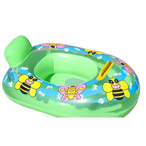 Haxisi Anello Gonfiabile di Nuoto del Bambino del Sedile del Galleggiante di Sicurezza della Stampa Animale Sveglia Durevole Galleggianti e Attrezzature da Nuoto Baby 1-3 Anni