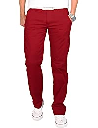 Rock Creek Herren Designer Chino Stoff Hose Chinohose Regular Fit Herrenhose H-002