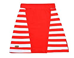Lil Orchids Girls Yarn Dyed Striped Cut & Sew Skirt