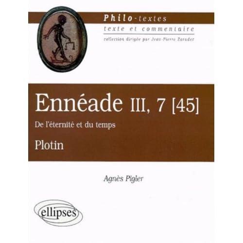 Ennéade III-7 (45) 'De l'éternité et du temps', Plotin