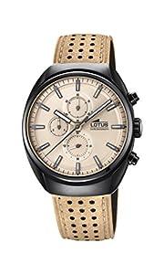 Lotus Watches Reloj Cronógrafo para Hombre de Cuarzo con Correa en Cuero 18567/1