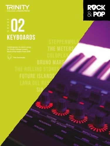 Trinity College London Rock & Pop 2018 Keyboards Grade 2 (Trinity Repertoire Library)