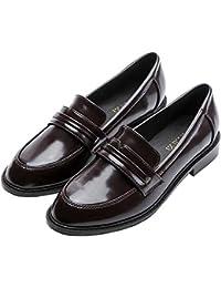 LITHAPP Mujer Plano Zapatos Tacón Bajo Para Mujer Zapatos Mocasines Señoras Mocasín Zapatos De Trabajo Confort