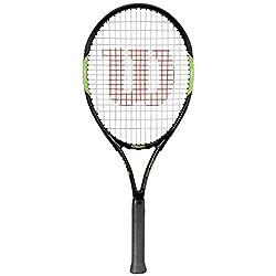 Wilson, Raquette de tennis pour adolescents, Blade Team 26, Noir/Rouge, Pour les adolescents de plus de 1,45m de hauteur, WRT216500
