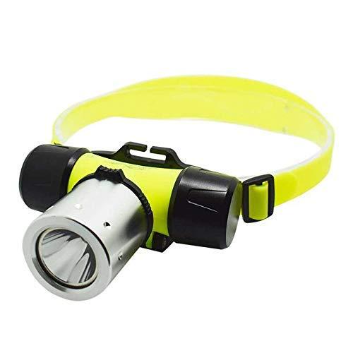 Linterna frontal Submarinismo LED Faros delanteros Antorcha frontal Impermeable