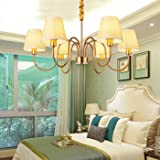 El salón candelabros de cobre emulación candelabros de hierro forjado salón lámparas de luz...