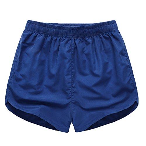 Niseng Liebhaber Shorts Strand Freizeithose Herren & Damen Casual Beachshorts Schwimmhose Surfen Shorts Saphir