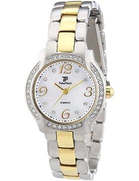 Time Piece Damen-Armbanduhr Diamant Analog Quarz TPLA-60447-74M