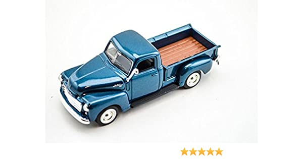 GMC Pickup Truck Blue 1950 Model 1//43 Scale Collection USA Diecast Car YAT MING