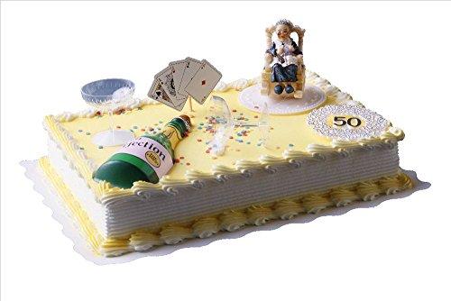 Cake Company Torten-Deko Set zum 50. Geburtstag mit