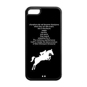 Coque Housse Iphone 5c Réduit - Cheval - TPU Iphone 5c Back Case Cover