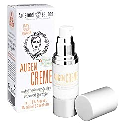 Arganoel magic eye cream with 10% Argan oil moisturizes without irritating effective eye care against small dryness wrinkles Natural cosmetics from Germany 1 x 30 ml