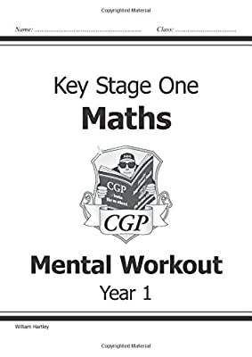 KS1 Mental Maths Workout - Year 1 (CGP KS1 Maths) from Coordination Group Publications Ltd (CGP)