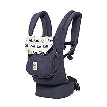 ERGObaby - Marsupio per bebè, collezione originale, 3 posizioni, ergonomico, anteriore e posteriore