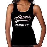 Addicted to Cobra Kai Baseball Text Women's Vest