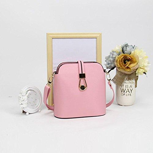 YipGrace Ms. Messenger Bag/Sacchetto Di Colore Della Caramella Moda Giapponese E Coreano/Pacchetto Di Shell Mini/Borsa A Tracolla Pink