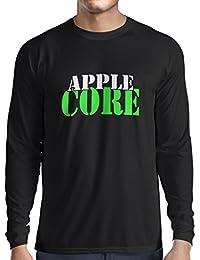 N4248L T-Shirt mit langen Ärmeln Apple Core