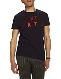 Scotch & Soda Nepped Artwork, T-Shirt Homme