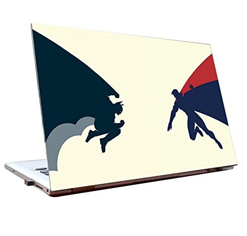 Tamatina Laptop skins 17.5 inch - Batman vs Superman- Fan Art - HD Quality - Dell-Lenovo-HP-Acer  available at amazon for Rs.168