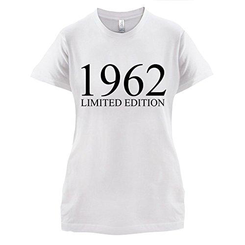 1962 Limierte Auflage / Limited Edition 55 Geburtstag Damen TShirt 14  Farben Weiß