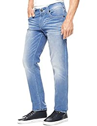 True Religion - - Herren Geno Schlank Indigo Corduroy Big T Pants