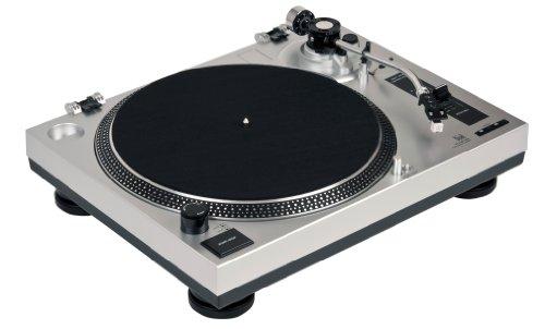 Dual DTJ 301 USB DJ-Plattenspieler silber - 4