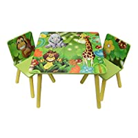 Millars Ark Toys Childrens Furniture Jungle Table and Chairs