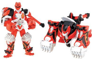 LE FURY *RED / ROTER RANGER *ANIMALIZED GORILLA RANGER* ca. 14 cm * BANDAI (Roten Jungle Fury Power Ranger)