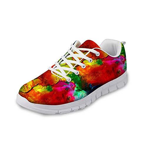 MODEGA Turnschuhe Kunst Sneaker Cricket Schuhe Schuhe austauschbar Sohlen Sportschuhe für Männer Badmintonschuhe Männer Bowling Größe 44 EU |9 UK