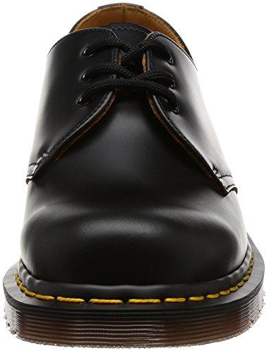 Dr. Martens 1461 Vintage Quilon Unisex-Erwachsene Derby Schnürhalbschuhe Schwarz (Black)