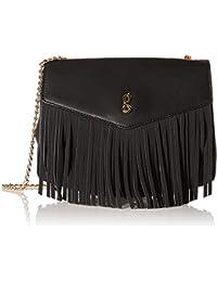 global desi Women's Sling Bag (Black)