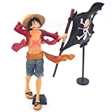 ZHPBHD One Piece Lu Fei Bandiera Anime Statue Model Decoration Gift 22cm Anime Decoration