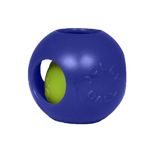 Jolly Pets JOLL042B Hundespielzeug - Teaser Ball, 20 cm, blau (Hundespielzeug Stuff Tiere)