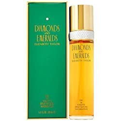47krate DIAMONDS & EMERALDS by Elizabeth Taylor for WOMEN: EDT SPRAY 3. 3 OZ