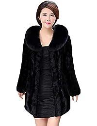 Amazon.it  pelliccia ecologica donna - Donna  Abbigliamento 4e25db0cb0b