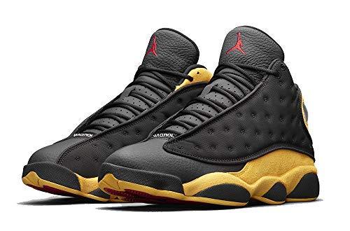 Nike Air Jordan 13 Retro Men's Basketball Shoes Black University Red 414571 035 (10) (Jordan Melos)