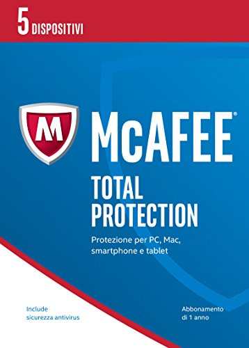McAfee MTP  Total Protection 2017 - 5 Dispositivi