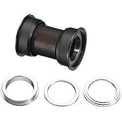 F.S.A. FSA PF30 MTB Unisex Soporte Inferior, Negro, Eje: 30 mm, Ajuste de Empuje, 68/73 × 46 mm
