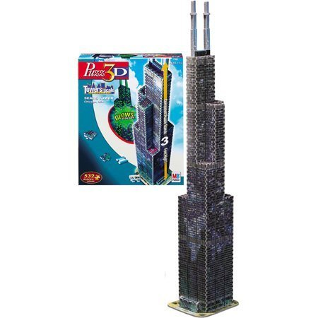Puzzle 3D Sears Tower by Hasbro (Sears Tower)