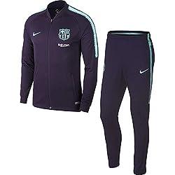 Nike FCB M Nk Dry Sqd K Chándal, Sin género, Negro, M
