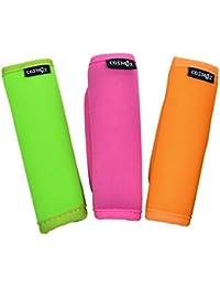 3pcs asa comodidad de neopreno envuelve/Grip/identificador para bolsa de viaje equipaje maleta