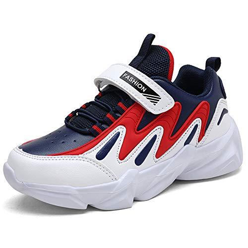 HSNA Baskets Mode Garçon Légères Chaussures de Sport...