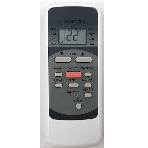 Lands A/C Fernbedienung rg51b31/E rg51b31E für Midea/Comfee/kaisai/airklima/Electrolux/Comfort-Aire/DAITSU/Pro Klima Klimaanlage