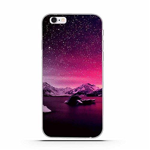 iPhone 6 Hülle, iPhone 6S Hülle, Gift_Source [ Mittelfinger ] Schutz-Hülle Silikon TPU transparent ultra-slim Case Cover ultra-thin durchsichtig für iPhone 6s/6 E1-Sterne