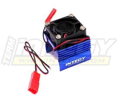 Integy-Hobby-RC-Model-C23141BLUE-Super-Brushless-Motor-HeatsinkCooling-Fan-116-Traxxas-ERevoSlashSummitRally