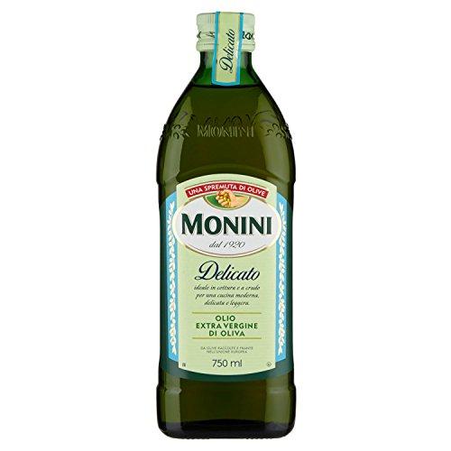 Monini delicato olio extra vergine di oliva - 750 ml
