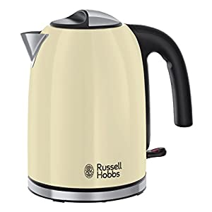 Russell Hobbs 20415-70 Electric Kettle Colours Plus Classic cream-20415-70, Cream