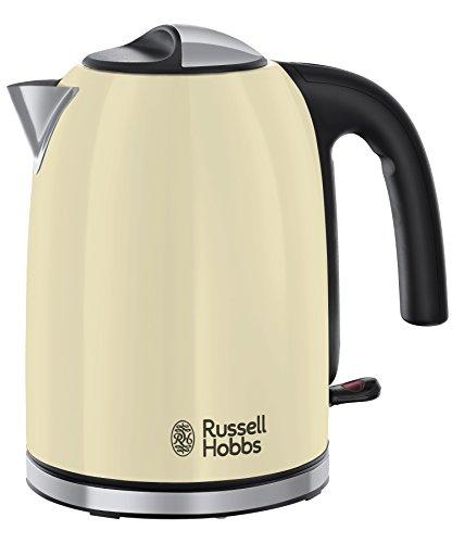 Russell Hobbs 20415-70 Wasserkocher Colours Plus+ Classic Cream, 2400 Watt, 1.7l, Schnellkochfunktion, creme