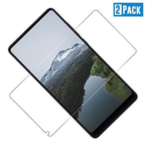 TOCYORIC [2 Stück] Panzerglas Schutzfolie kompatibel mit Xiaomi Mi Mix 2s / Mi Mix 2, Ultra-HD, 9H Härte, Anti-Kratzen, Anti-Öl, Anti-Bläschen Glas Bildschirmschutzfolie für Mi Mix 2s/2